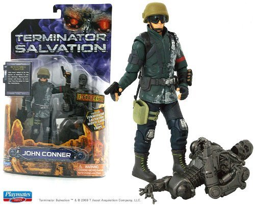 - Topps Terminator Salvation John Connor With T-600 Torso Six Inch Action Figure by Playmates