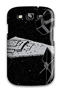 Fashion VvacJjL4018OQYAM YY-ONE For Galaxy S3(artistic Tie Squadron With Star Destroyer) by runtopwell