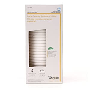 Whirlpool Large Capacity Whole House Filtration Replacement Filter - WHKF-GD25BB, Packaging May Vary