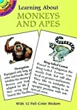 Learning About Monkeys and Apes (Dover Little Activity Books)