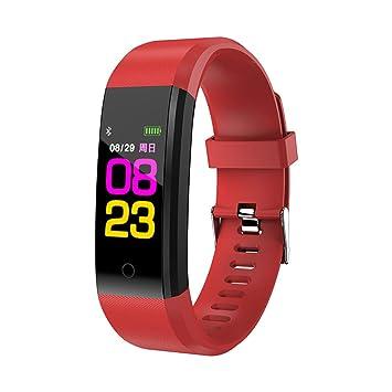 MINSINNY Reloj Inteligente Smart Watch Sports Fitness ...