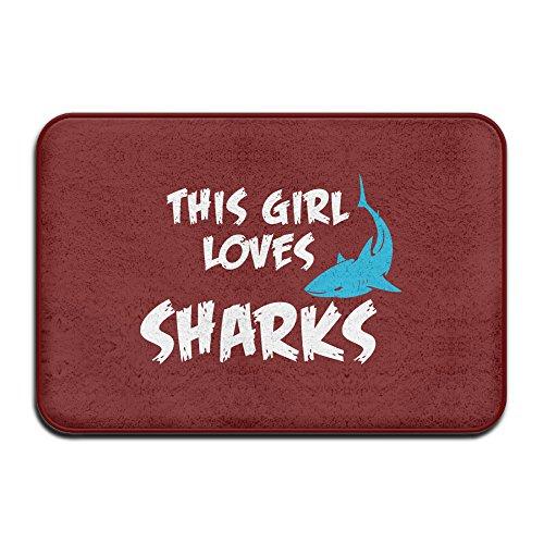 Sharks Animal Welcome Doormat Outdoor product image