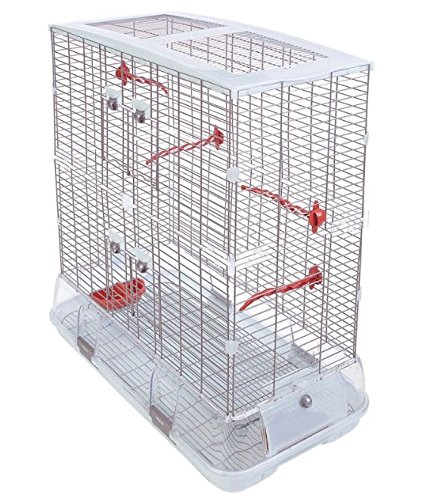 Altura Visión jaula de pájaros grandes - perfecto para Budgies ...