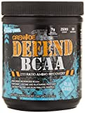 GRENADE BCAA Powder – Defend High Dose Micronized BCAAs, Fermented Amino Based Muscle Building Supplement, Blue Candy, 30 Serving For Sale