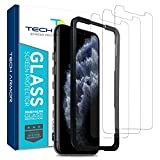 Tech Armor Ballistic Glass Screen Protector for New 2019 Apple iPhone 11 Pro Max / iPhone Xs Max - Case-Friendly Tempered Glass , Haptic Touch Accurate Designed [3-Pack]