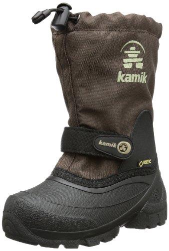 Kamik Waterbug5G - Botas de nieve, talla: 38, color: Morado marrón - Braun (dark brown DBR)