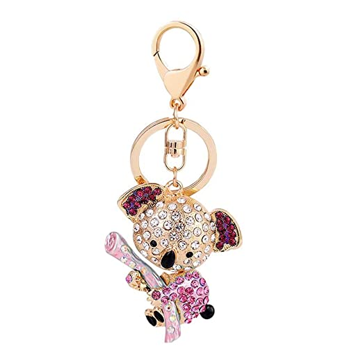 Lispeed Hermosa Koala Oso Llavero Animales Diamond Crystal ...