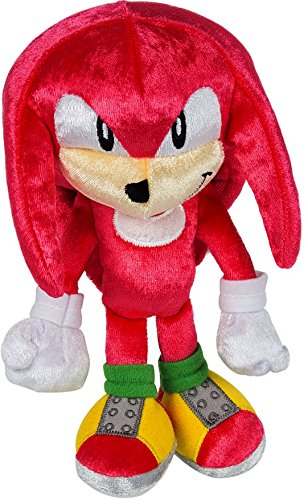TOMY Sonic 25th Anniversary Knuckles 1991 Plush, Small