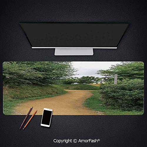 Anti-Fray Cloth Gaming Mouse Pad - High-Performance Mouse Pad Optimized for Gaming Sensors,35.5