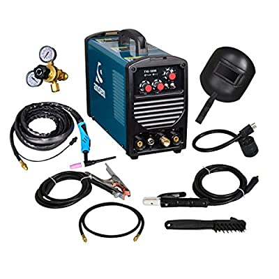 180 Amp TIG Torch/Arc/Stick DC Inverter Welder Dual Voltage IGBT Welding