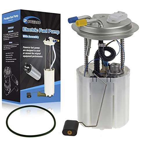 POWERCO Fuel Pump Module Assembly E3706M 150230 Replacement for Chevy Suburban Yukon XL 1500 5.3L 2005 2006 2007 with Sending Unit Level - Module Pump Tank