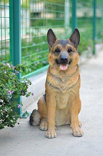 Hi-Line Gift Ltd Sitting Dog - German Shepherd - Large by Hi-Line Gift Ltd (Image #2)