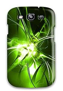 3534327K72290586 Case Cover Galaxy S3 Protective Case Green