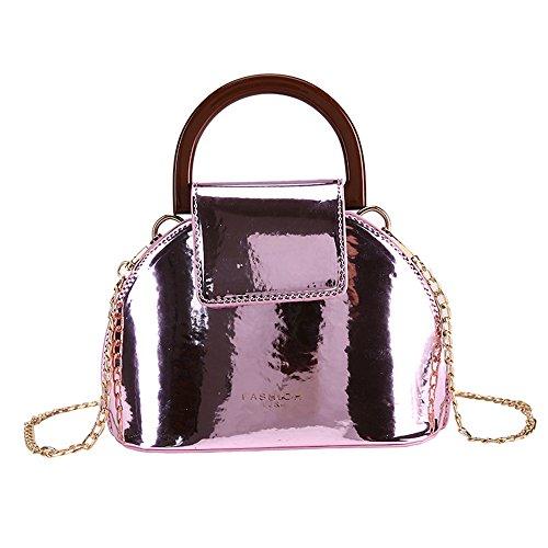 Shell Bag nbsp;Nouveau À Sac Chaîne Rouge Messenger Mode Pink Sac Bandoulière Meaeo nw7gFCqOxC
