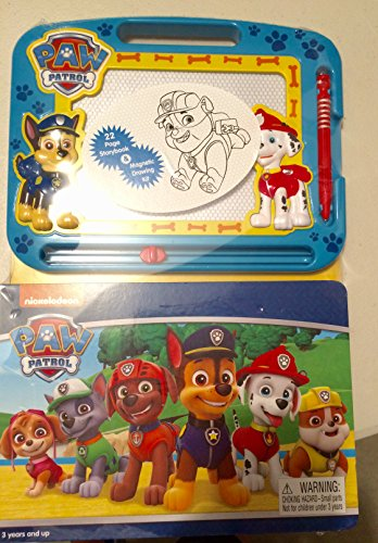 Paw Patrol 22 Page Storybook and Magnetic Drawing kit - Magnetic Drawing Kit