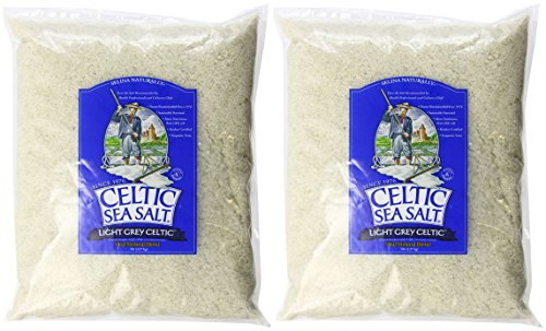 Celtic Sea Salt Bag, Light Grey (10 pound)