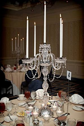 Amazon set of 10 wedding candelabras candelabra centerpiece set of 10 wedding candelabras candelabra centerpiece centerpieces great for special events set junglespirit Gallery
