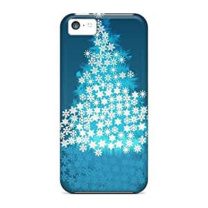 Best Hard Phone Case For Apple Iphone 5c With Support Your Personal Customized HD Christmas Time Series CharlesPoirier
