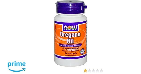 Aceite de orégano, 90 Cápsulas - Now Foods: Amazon.es: Salud y cuidado personal