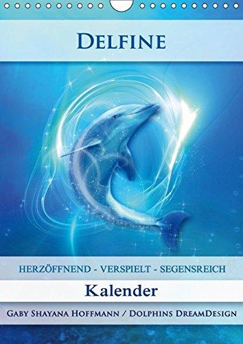 Delfine   Kalender  Wandkalender 2019 DIN A4 Hoch   Verspielte Delfine An Deiner Seite  Monatskalender 14 Seiten    CALVENDO Gesundheit