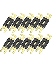 X AUTOHAUX 10pcs Fuse Replacement 450A ANL Fuses for Car Truck Motorcycle Boat Audio CDs