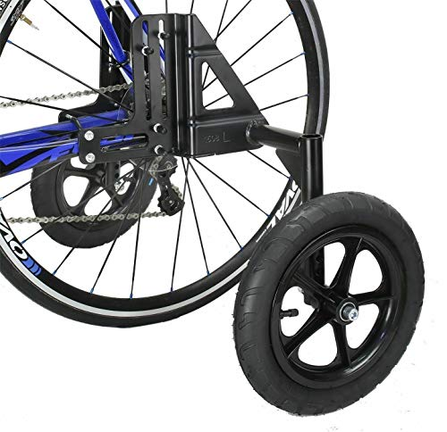 CyclingDeal Adjustable Adult Bicycle Bike Stabilizers Training Wheels Fits 20