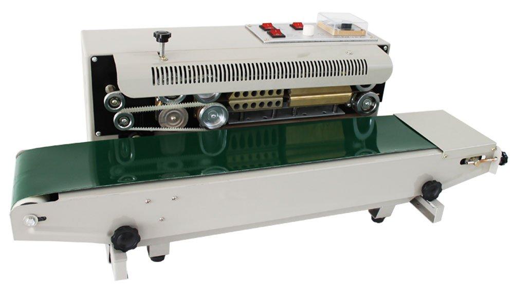 TECHTONGDA FR-900 Continuous Auto Sealing Machine Sealer Horizontal Sealing PVC Membrane Bag Film