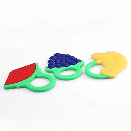 Ogquaton 3 UNIDS Bebé Juguetes de Dentición de Silicona ...