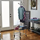 Household Essentials 6028-1 Rolling Laundry Cart