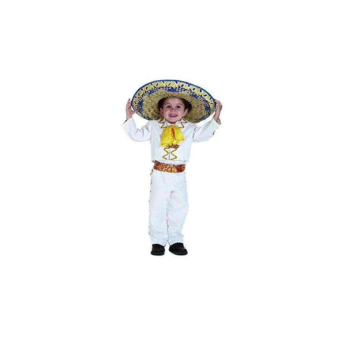 Disfraz Bebé Mejicano Lujo: Amazon.es: Juguetes y juegos