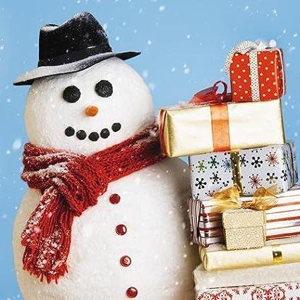 Tarjeta de Navidad (ph2480) - paquetes envuelto con muñeco de ...