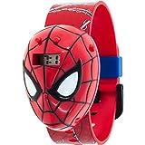 Marvel Spider-man Boys Molded Sound LCD Watch