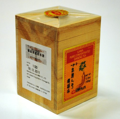 ILHWA PURE CONCENTRATE GINSENG TEA(100grams) by Il Hwa