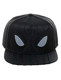 bioworld - Marvel - Spider-Man - Far from Home - Black Suit Ballistic Snapback - Hat