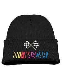 NASCAR Auto Racing Warm Winter Hat Knit Beanie Skull Cap Cuff Beanie Hat Winter Hats Boys