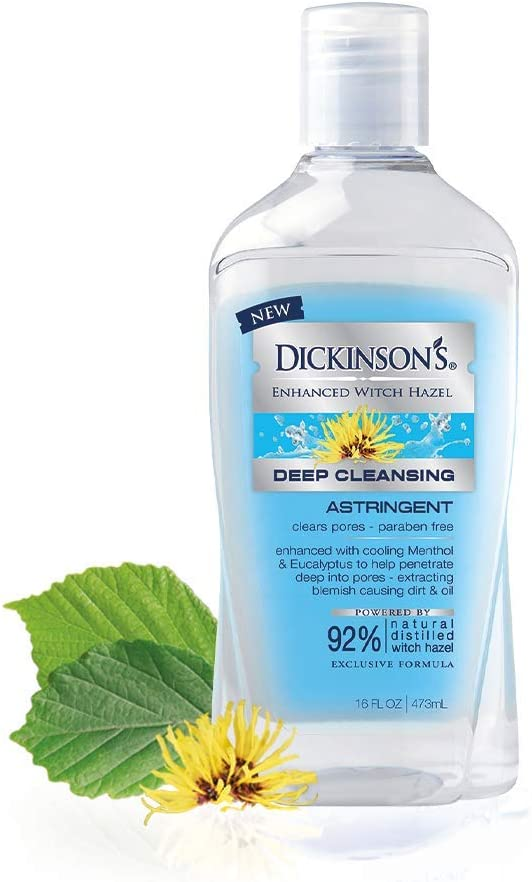Amazon Com Dickinson S Enhanced Witch Hazel Deep Cleansing