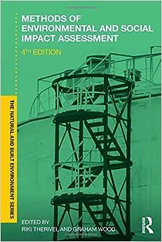 Methods of Environmental and Social Impact Assessment (Natural and Built Environment Series)