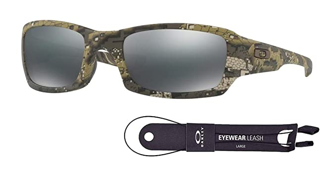 11d01c55609 Oakley Fives Squared OO9238 923831 54M Desolve Bare Camo Black Iridium  Sunglasses For Men+