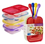 Can also be used for meal prep, arts & crafts, picnics, storing and more!