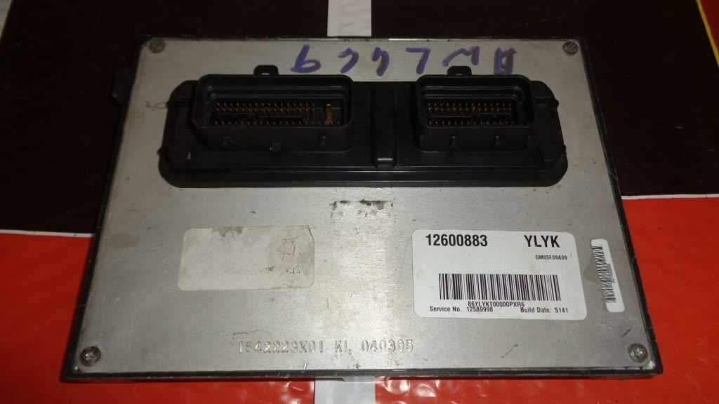Engine Ecm Electronic Control Module 2 2L VIN F 4-134 Fits 05-06
