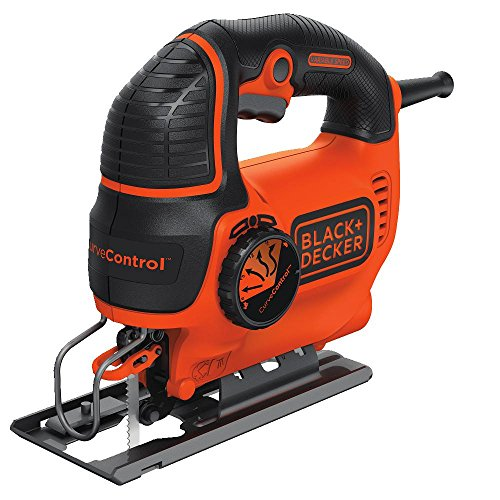 BLACK+DECKER BDEJS600C Smart Select Jig Saw, - Blades Black Jigsaw Decker