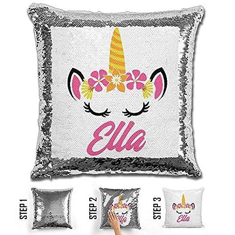 Amazon.com: LemonsAreBlue Unicornio personalizado sirena ...
