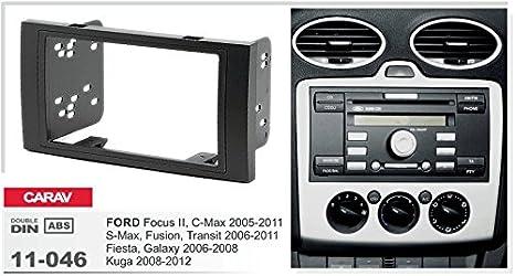 Carav 11 046 23 7 Radioblende Car 2 Din In Dash Installation Kit Set Für Focus