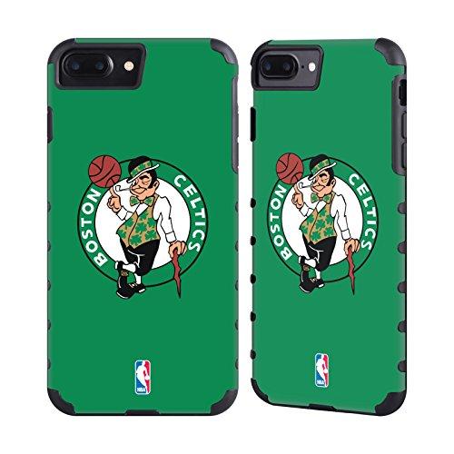 Official NBA Plain Boston Celtics Gold Gripper Case for Apple iPhone 7 Plus / iPhone 8 - Boston 7