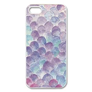 Mermaid Scales iphone 4s 4 Case, Inspirational Quotes Design TPU Snap On Cover For Iphone 4 4s