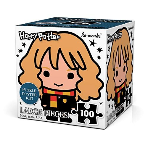 Re-marks Harry Potter 100pc Puzzle Cube Hermione - Emmas Treasures Poster