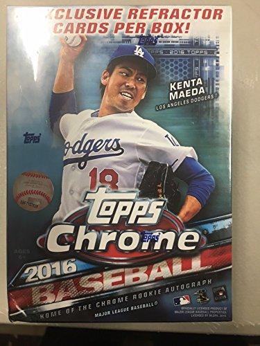 Topps MLB 2016 Chrome Baseball Blaster Box