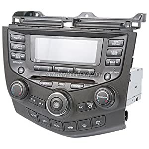 oem radio stereo for honda accord w face code. Black Bedroom Furniture Sets. Home Design Ideas