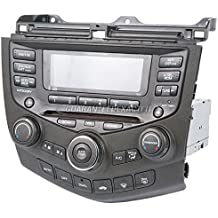 OEM Radio Stereo For Honda Accord w/Face Code 7BK0 7BK1 6-Disc 2004-2007 - BuyAutoParts 18-40060R Remanufactured