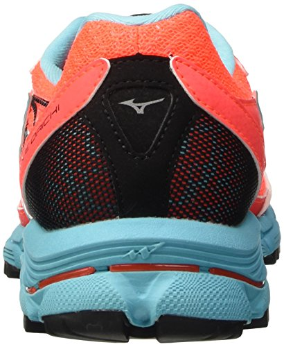Fiery Coral Capri Shoes Orange Daichi Silver Wave Trail Running Women's Mizuno qP8x0x